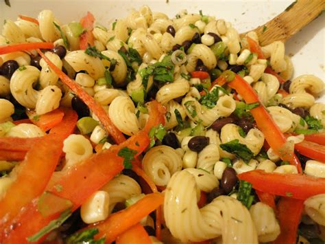 life with the five f s cold pasta salad with black beans