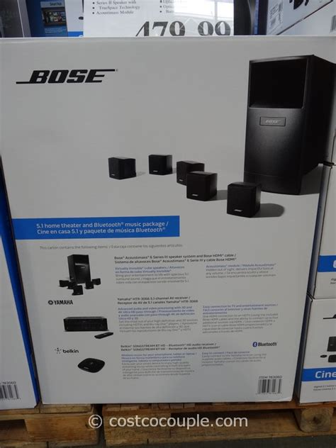 bose acoustimass 6 home theater system