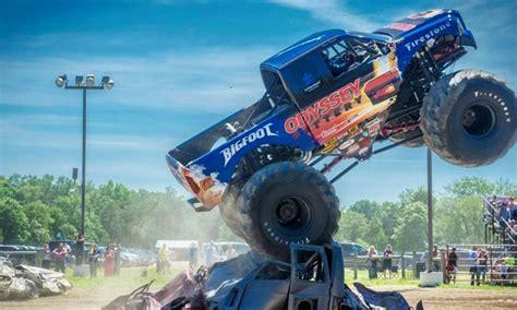 monster truck show nj raceway park monster truck show in millville nj groupon