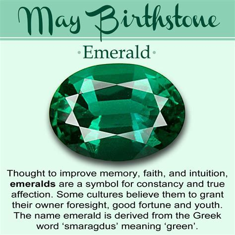 May Birthstone // History, Meaning, & Lore   Gemstones