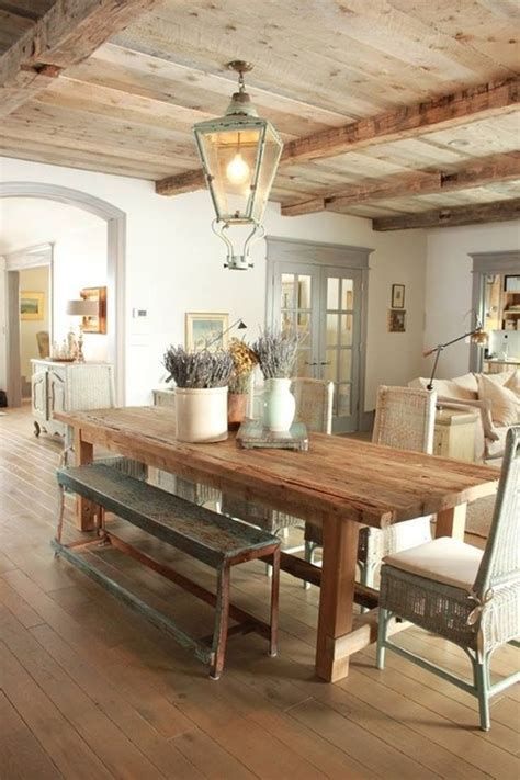 Rustic Dining Room Ideas with 47 Calm And Airy Rustic Dining Room Designs Digsdigs