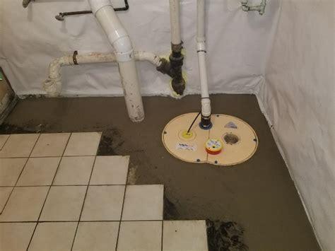 Basement Waterproofing Creative Discharge Line