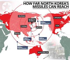 nuclear fallout map canada korea hydrogen bomb test map showing potential