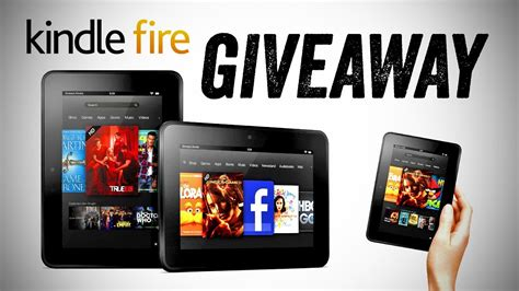 Amazon Kindle Giveaway - amazon kindle fire hd giveaway youtube
