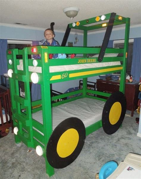 tractor bunk bed build your kids a tractor bunk bed bed for kids bedroom