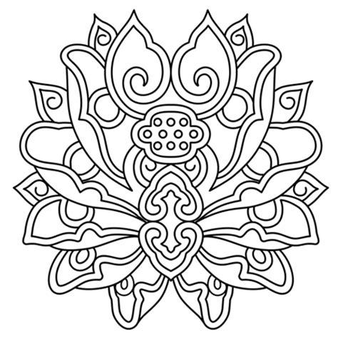 Fleur De Lotus Mandala Coloriagetv | lotus mandala dessin fleur de lotus mandala a colorier