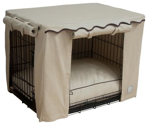 dog cage covers stone beige crate cover small traditional dog kennels