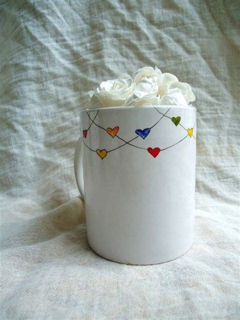 paint pottery and bead it best 25 painted mugs ideas on painted