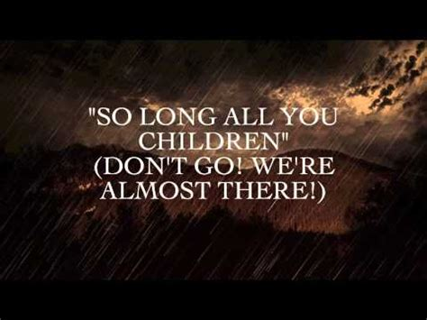 Oh Sleeper Endseekers Lyrics oh sleeper endseekers lyrics