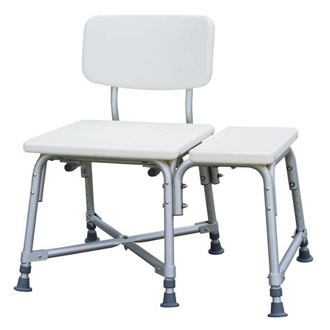 bariatric tub transfer bench medline bariatric transfer bench health wellness