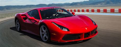 ferrari 488 modified drive a ferrari 488 gtb on a racetrack at exotics racing