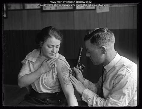 tattoo parlor portland maine maine memory network jongeleen tattooing portland 1925