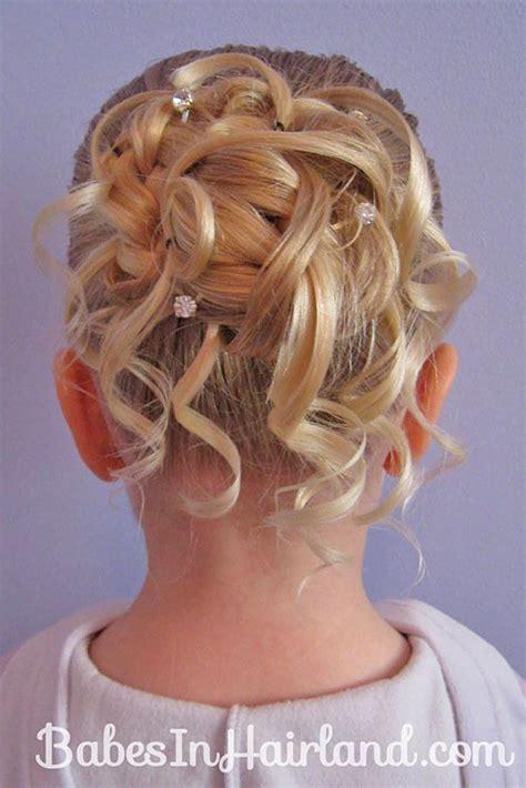 flower girl braided hairstyles for weddings best 10 kids wedding hairstyles ideas on pinterest