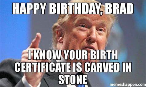 Brad Meme - happy birthday brad my blog