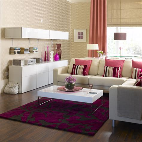 pink living room living room furniture decorating