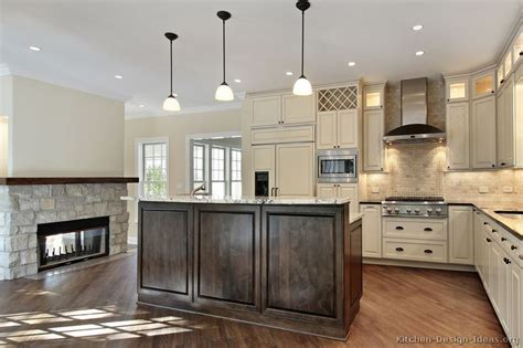 pictures of kitchens traditional two tone kitchen cabinets pictures of kitchens traditional two tone kitchen