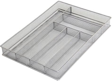 large utensil drawer organizer nz ybm home silver mesh cutlery holder in drawer utensil