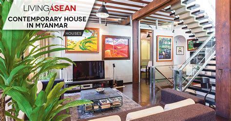 Myanmar Home Design Modern by Contemporary House In Myanmar Living Asean