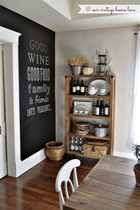 chalkboard kitchen wall ideas trend to love dining room chalkboard walls liz marie blog