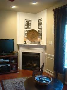 corner fireplace beautiful homes design
