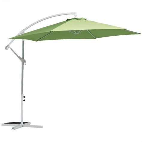 Parasol Deporte Inclinable by Parasol D 233 Port 233 Marbella Rond Inclinable Vert Parasol