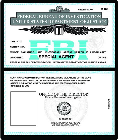 fbi id template print fbi id antonio rodrigues flickr