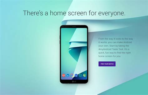 android website s new my android site suggests wallpapers icon