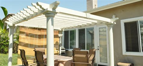 Open Lattice Patio Cover by Wood Patio Covers For Every Home