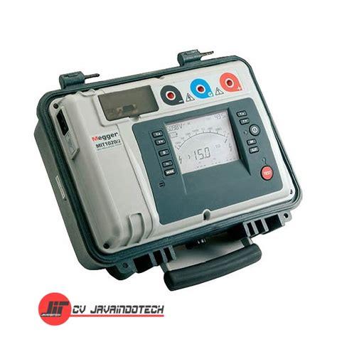 Alat Test Megger harga jual megger mit1020 2 10 kv insulation resistance tester with data storage cv javaindotech