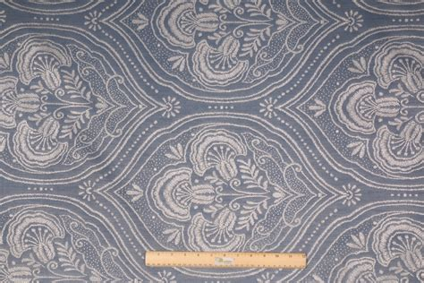 medallion upholstery fabric medallion woven upholstery fabric in chambray