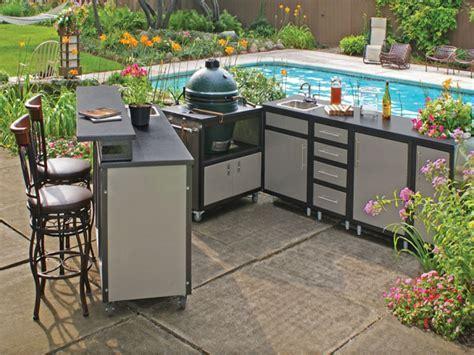 Outdoor furniture cabinet, outdoor kitchen kits steel