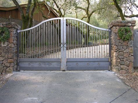 driveway swing gates steel gate pictures