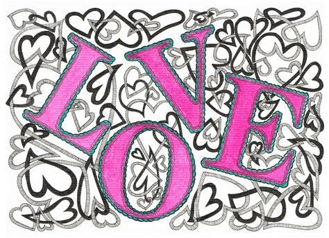 doodle pattern love easy doodle designs love www pixshark com images