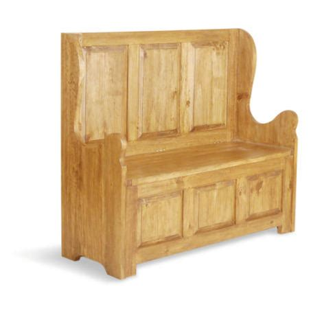 high back bench seat classic pine 3 seat high back bench furniture123
