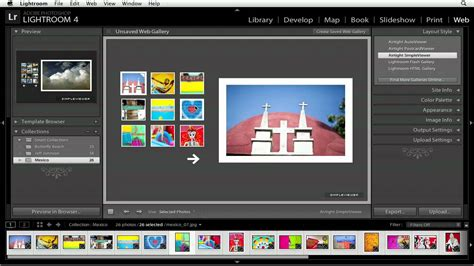 Using Web Gallery Templates In Lightroom 4 Lynda Com Lightroom Slideshow Templates Free