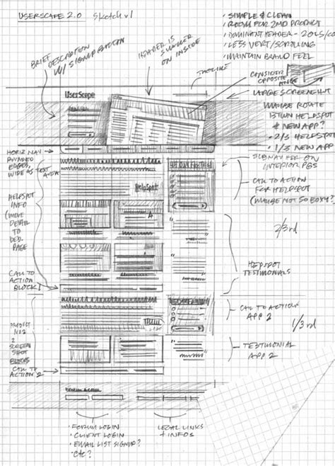 layout grid sketch 24 professional exles of web and mobile wireframe