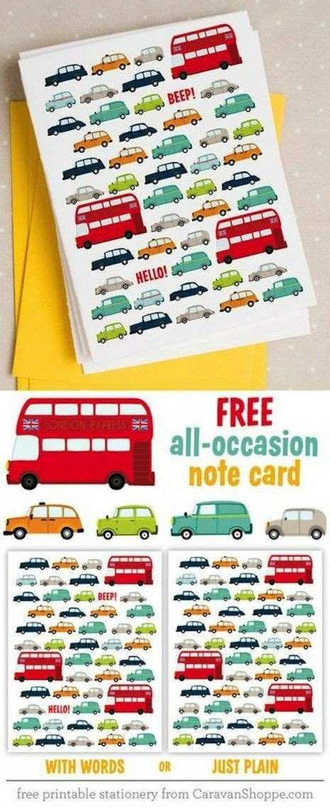 printable gift vouchers london free printable london traffic note cards gifts and