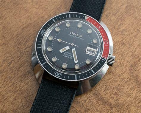 bulova dive bulova announces reissue of the 1972 diver dive
