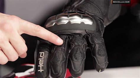 Held Phantom II Gloves Review at RevZilla.com   YouTube