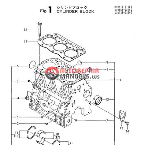 Yanmar Engine 3tnc78l Rkah V2 Parts Catalog Auto Repair