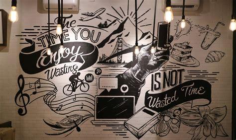 trend terbaru lukisan dinding cafe nico nickoo