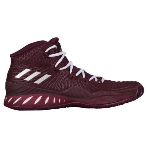 adidas crazy explosive mens basketball shoes maroon