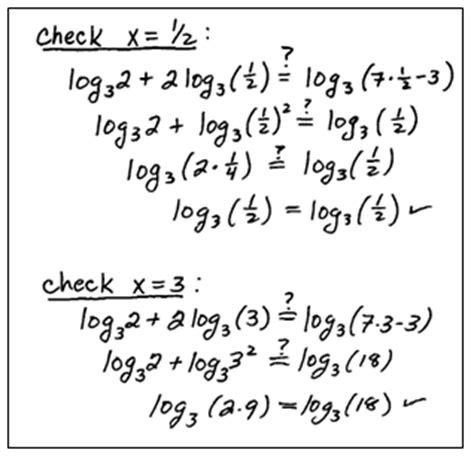 Solving Log Equations Worksheet by Openalgebra Solving Logarithmic Equations
