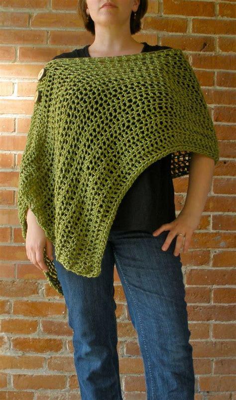 crochet poncho pattern free pinterest sarahndipities fortunate handmade finds pinterest