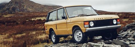 land rover introduces special range rover classic model