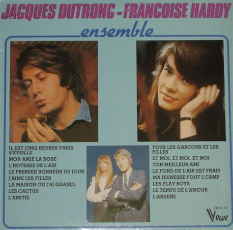 jacques dutronc vinyl jacques dutronc fran 231 oise hardy ensemble vinyl lp