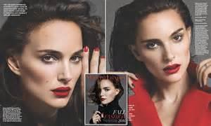 natalie portman covers u k work harder than natalie portman poses for stunning lipped modern