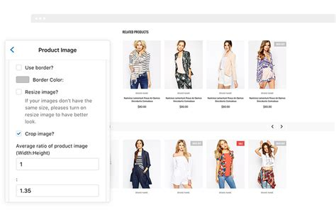 product size fashionable responsive fashion shopify template