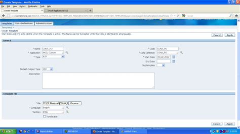 xml reports tutorial oracle apps how to register oracle xml reports in oracle apps r12