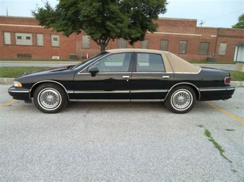 how to sell used cars 1994 chevrolet caprice free book repair manuals buy used 1994 chevy caprice classic 5 7 posi tow ice cold air runs super in york